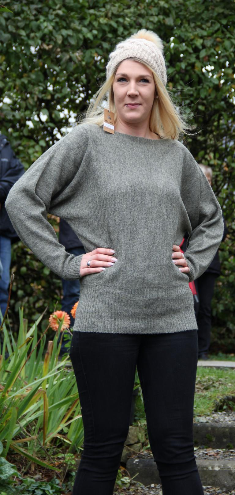 Pullover natural style + Mütze Millwa