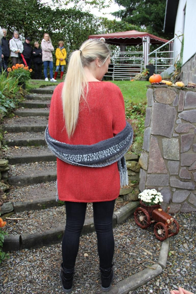 Pullover, orange, natural style